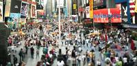 Susan Wides, Times Square [July 11, 2011], 2011, pigmented ink print, 30 x 64 inches, Ed of 6